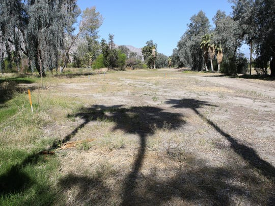 The closed golf course Tommy Jacobs Bel Air Greens