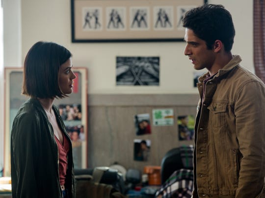Olivia (Lucy Hall) and Lucas (Tyler Hall) attempt to