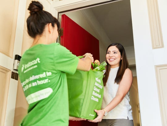 Instacart employs local contractors to deliver groceries.