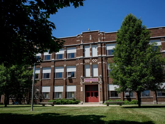 The former St. Clair Middle School.