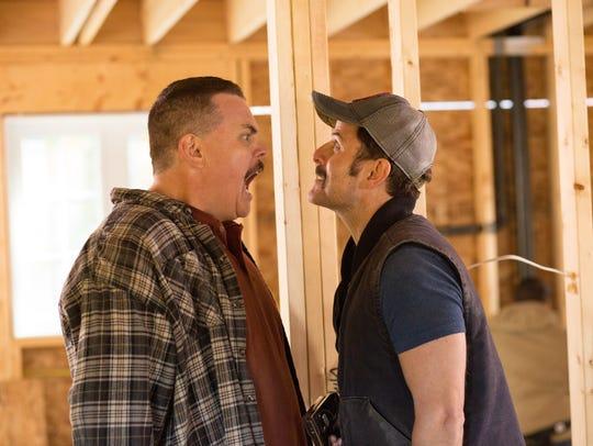 "Kevin Heffernan (left) and Steve Lemme star in ""Super"