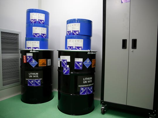 Lithium is stored in General Capacitor's new dry room