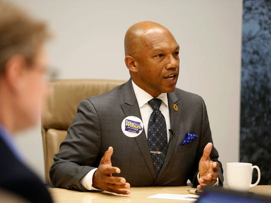 Ross Wilburn, Democratic candidate for Iowa governor,