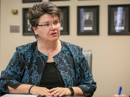 Iowa Finance Authority Carolann Jensen, IFA's interim