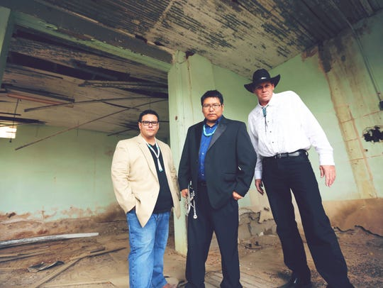 Delbert Anderson says his jazz trio remains very much