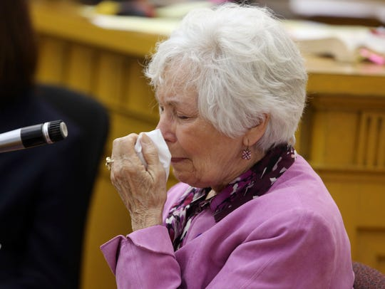 Donna Forshee, Elizabeth Syperda's mother, becomes