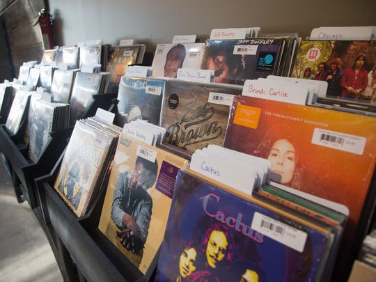 New Record store Marv's Music in the East Village Friday,