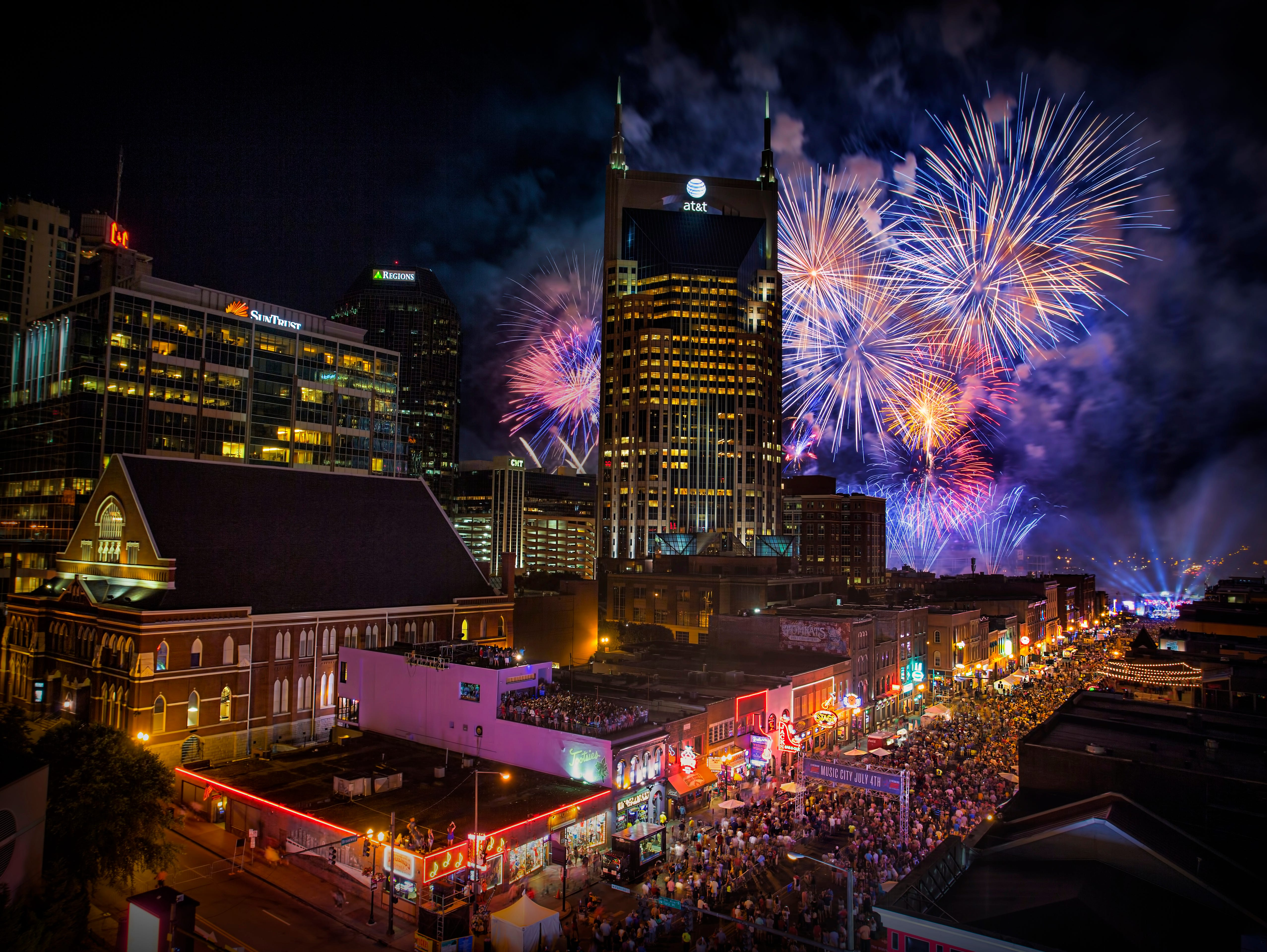 Enter to win a 5 day/4 night trip to Music City, complete with a VIP concert & firework experience!