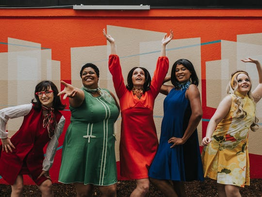 """Shout! The Mod Musical"" features dancing and musical numbers as the audience follows five women as they come of age during the 1960s, set in Swinging London."