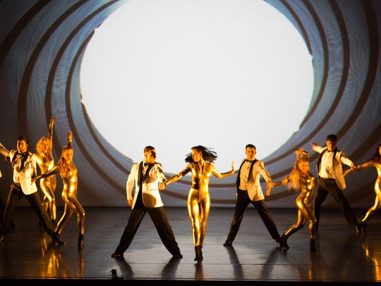 """A bit of 'Goldeneye': """"Dance to the Movies"""" will show"""
