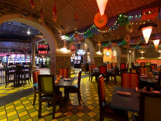 Loco Mexican Grill and Cantina is one of five restaurants inside Cypress Bayou Casino Hotel in Charenton.