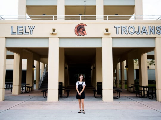 Lely High School graduate Pilar Forrest 'excels at service'