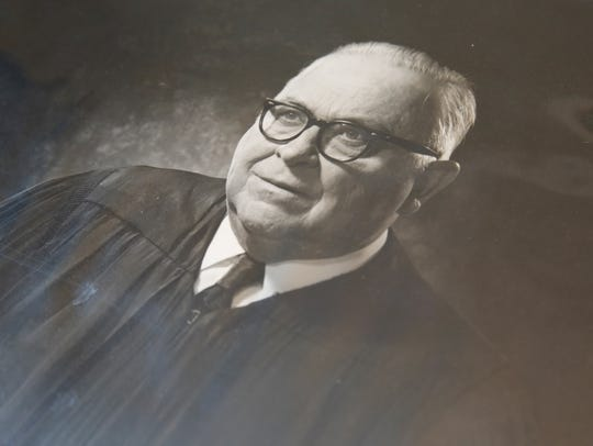An undated portrait of former Florida Supreme Court