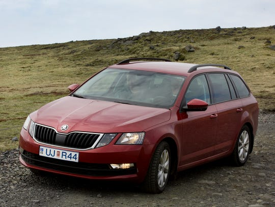 This Scoda Octavia crossover is considered a full-size vehicle. It had good pick-up when passing.