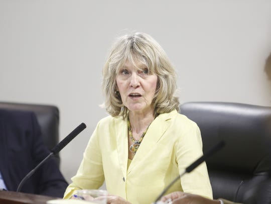 Leon County Commissioner Mary Ann Lindley voted for the public hearing a day after urging that the June 19 meeting be scrapped.