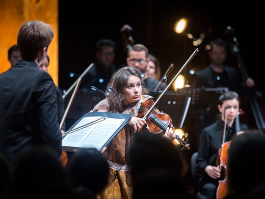 Violinist Patricia Kopatchinskaja will perform throughout the festival and will direct concerts June 7 and 9. She is music director for the 2018 Ojai Music Festival.
