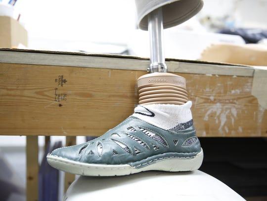 The Ottobock Meridium prosthetic foot is designed to