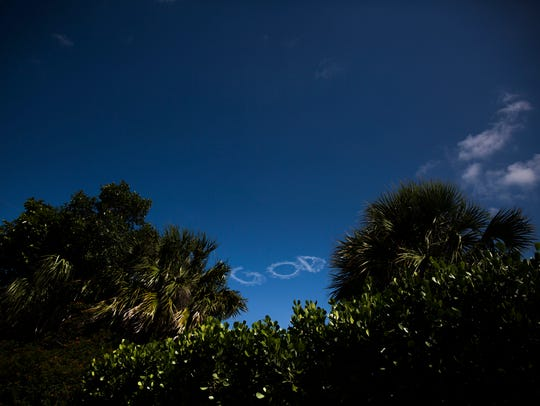Jerry Stevens, 75, of Orlando, flies his one-seat former