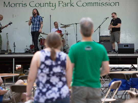 Hidden Cabins was among the musical acts that performed during the 2nd Annual Boonton Main Street Rock & Brew Festival on Saturday, June 2 2018.