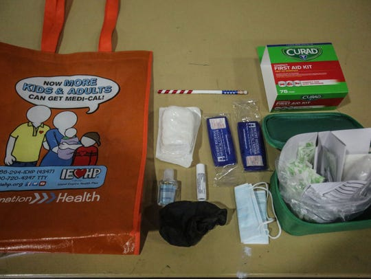 First aid materials are part of a emergency preparedness