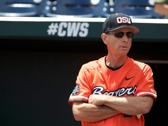 Oregon State coach Pat Casey will be taking a team to the College World Series for the sixth time.