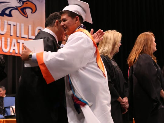 Canutillo High School graduation at UTEP's Don Haskins
