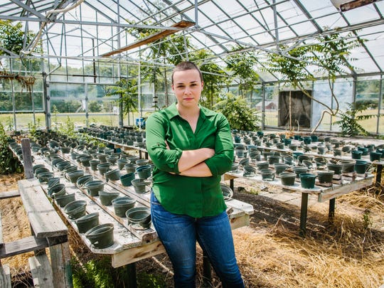 Alena Jones is co-founder and chief operating officer of Bellfound Farm on the Southside.