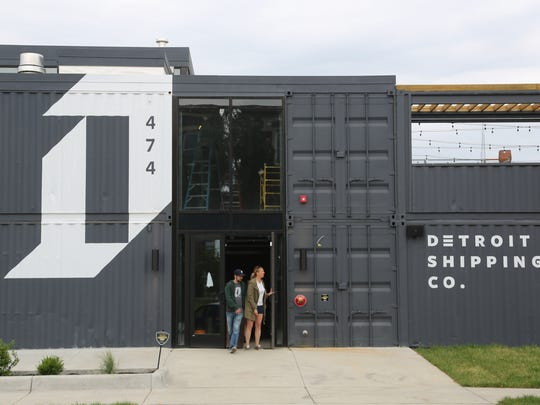 The Detroit Shipping Co. is set to debut in the Cass Corridor in mid-July. It is one of a handful of new food halls in various stages of development around Detroit.