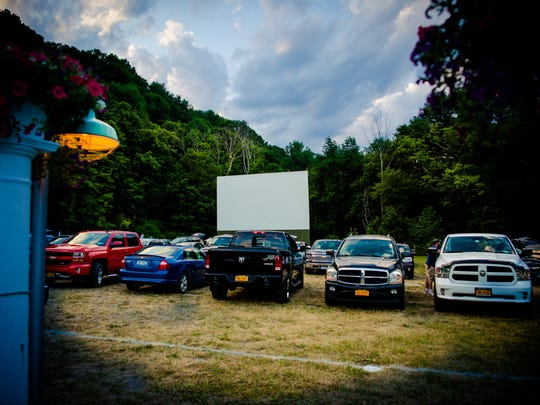 Four Brothers Drive-In, in Amenia, offers a double feature every night.