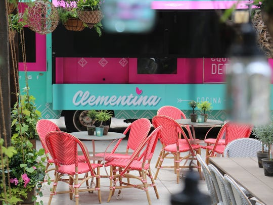 Clementina is a seasonal Latin outdoor dining concept