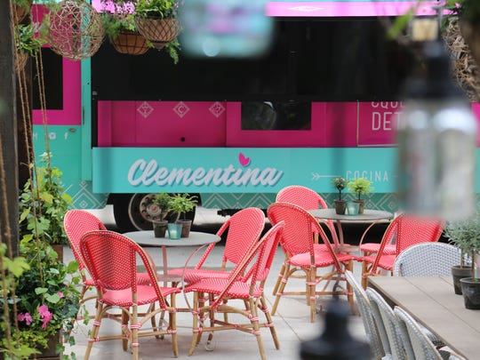 Clementina is a seasonal Latin outdoor dining concept located in Detroit's Capitol Park.