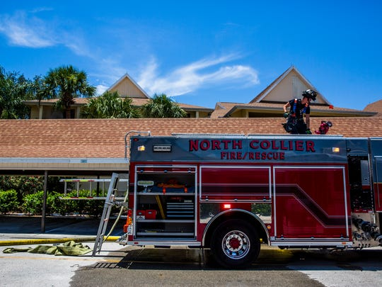 North Collier Fire and Rescue conducts training at