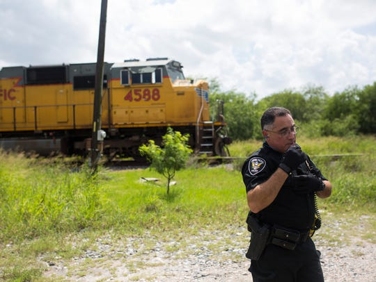 Union Pacific Special Agent Alfredo Rodriguez talks