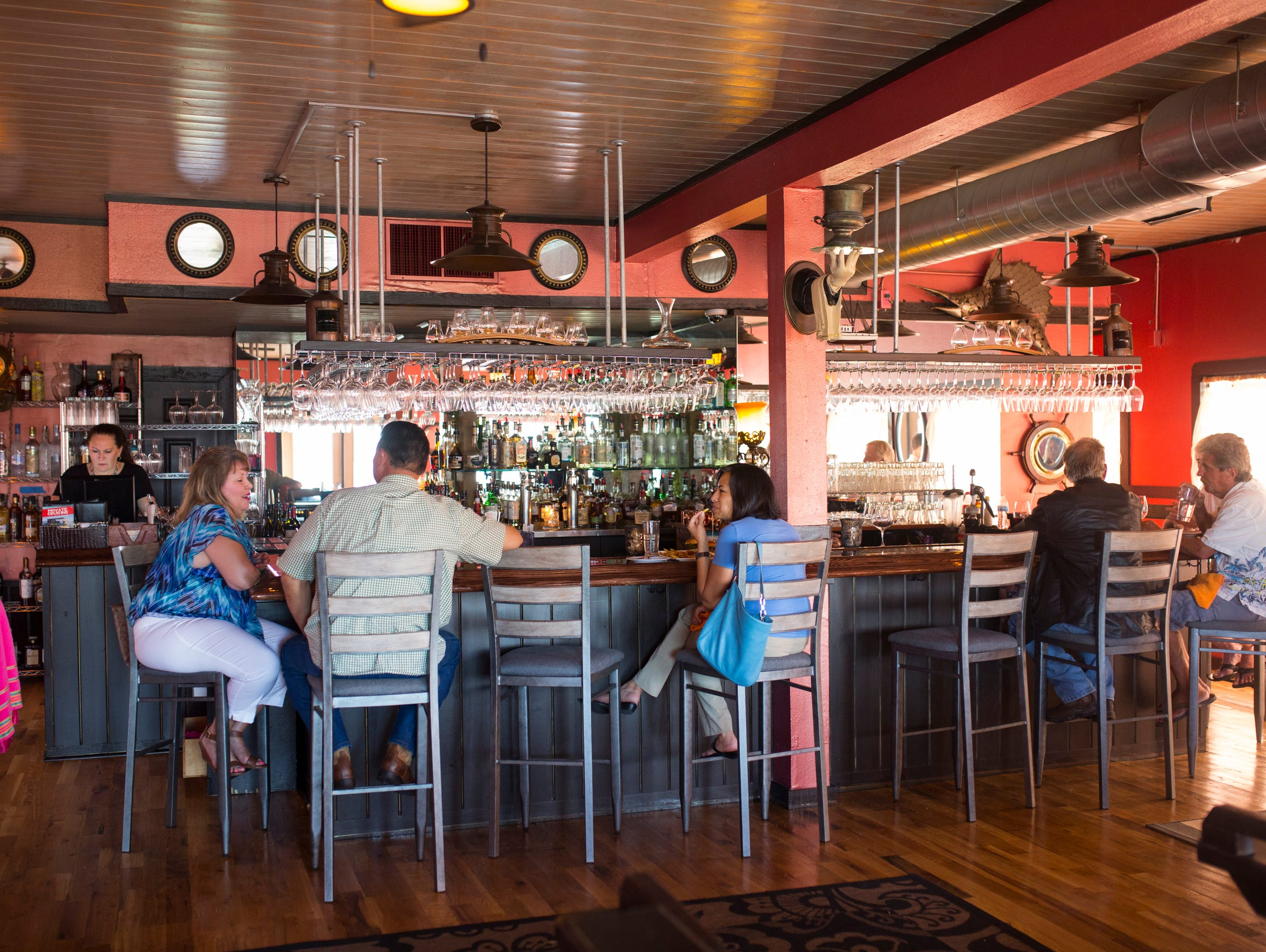 The La Barataria Restaurant and Wine Bar in Port Aransas