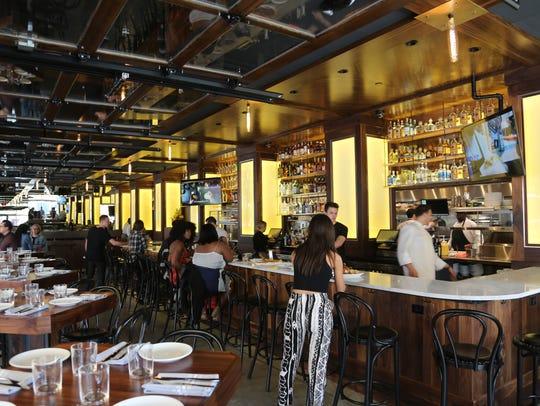Ron Rea designed the interior of Empire Kitchen & Cocktails