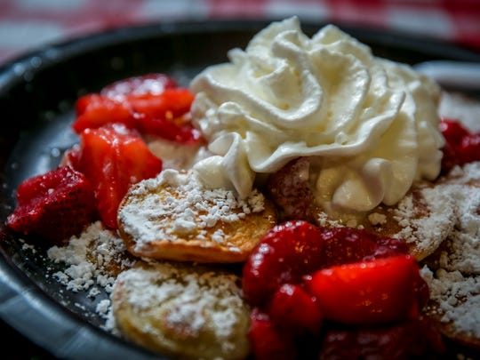 Poffertjes by The Wooden Shoe announced as a new food Tuesday July 17, 2018, at the Iowa State Fairgrounds.