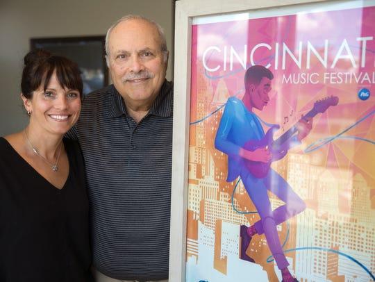 Fran Santangelo DiBattista and her dad, Joe Santangelo,