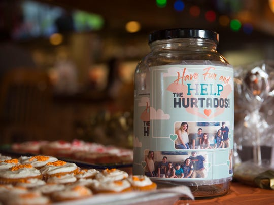 Hooters in North Naples held a fundraiser Saturday, July 21, 2018, for father and son Marco and Bryan Hurtado, who work at the restaurant. A fire in their home in June displaced the Hurtado family of six. in addition to the dunk tank, there was putt putt golf, a raffle, bake sale and car wash at the fundraiser.