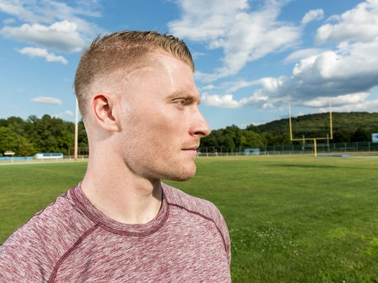 Kevin Saum suffered a traumatic brain injury while playing football for West Morris.