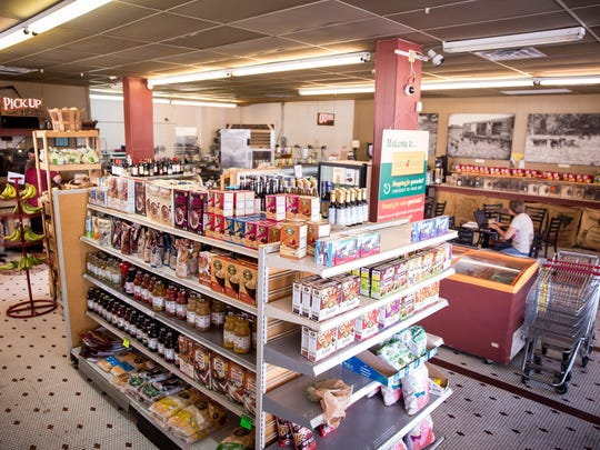 The Downtown Farmstand offers both a grocery and deli for downtown residents and beyond. The farmstand focuses on local farming. They work with up to 40 producers from local farms for beef, honey and more.