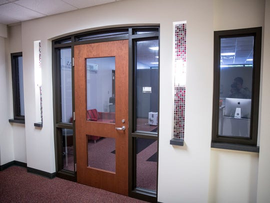 The office suite in Carmichael Hall that houses the