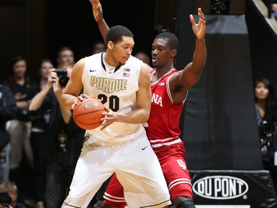 A.J. Hammons is a difference maker in the post for Purdue.