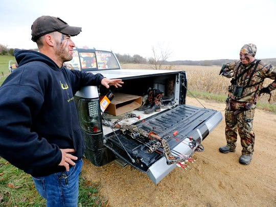 Combat veterans find solace in hunting