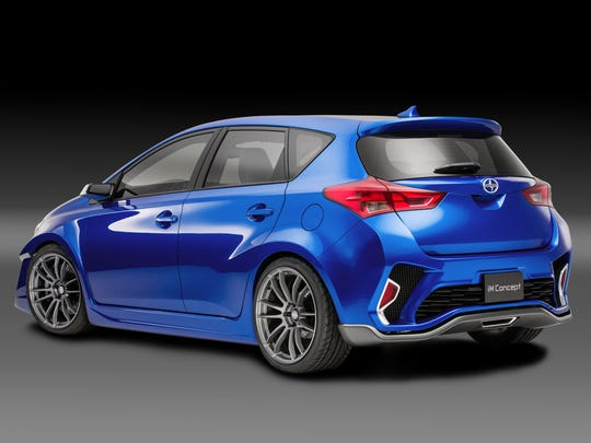 Scion is showing off the Scion iM concept ahead of