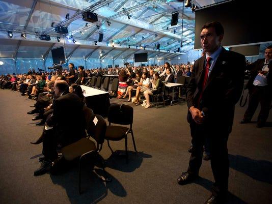 UN climate talks peru