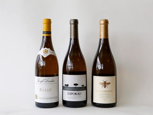 Mixed Case expert John Sarofeen at Grape Expectations shares his wine picks for Thanksgiving. Joseph Drouhin, Rully, 2011 (Bio-Dynamic), Espor?o, Reserva Branco, 2012, and Meadowcroft, Chardonnay, 2011 (Sustainable).