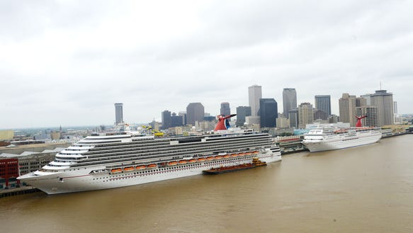 Carnival Commits To New Orleans Through - Cruise ships new orleans
