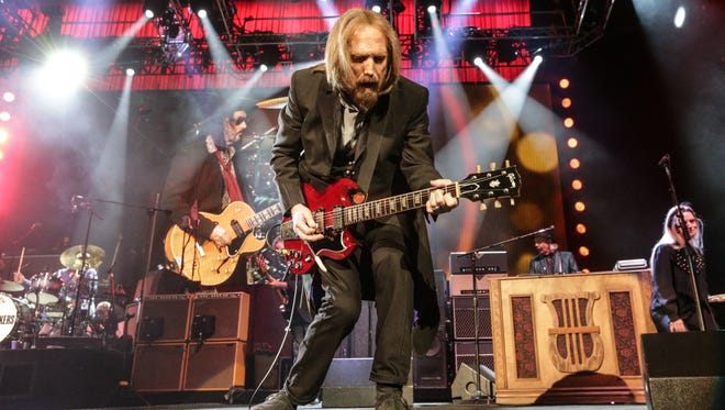 Tom Petty and the Heartbreakers perform at Klipsch Music Center, as part of their 40th Anniversary Tour, May 13, 2017. Joe Walsh opened as a special guest.