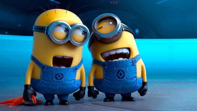 """The Minions of """"Despicable Me"""" get their own movie in July."""