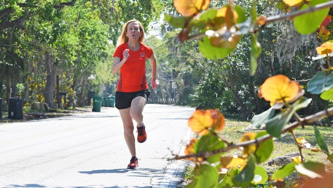 Cindy Bishop of Merritt Island will soon run in a marathon in Antarctica, which will be the 7th continent where she has participated in marathons.